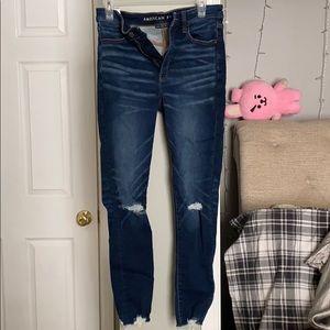american eagle blue jeans